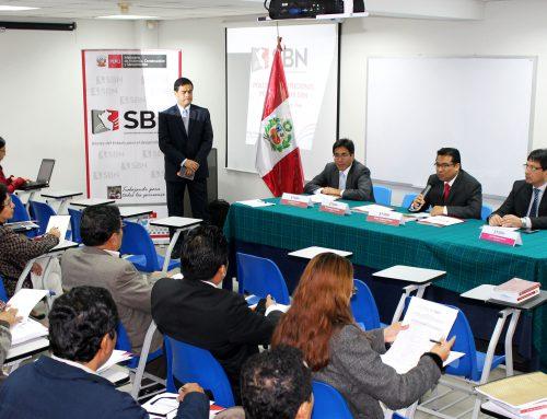 La SBN organiza taller para fortalecer trabajo con Gobiernos Regionales
