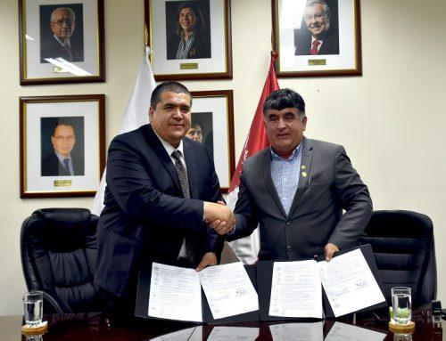 La SBN firma convenio de cooperación con municipios de Ica y La Libertad para la protección de terrenos del Estado