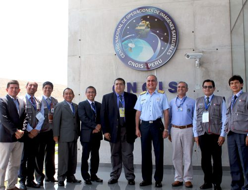 La SBN inicia monitoreo espacial de terrenos estatales a través del satélite PeruSat-1