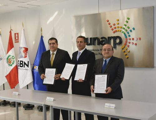 SBN FIRMA CONVENIO INTERINSTITUCIONAL PARA ACCESO A BASE GRÁFICA REGISTRAL