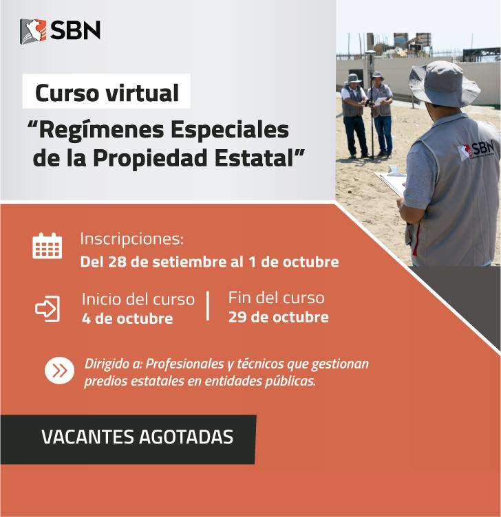 Curso Virtual Regímenes Especiales de la Propiedad Estatal