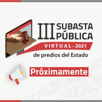III Subasta Pública SBN